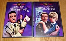PINK PANTHER & A SHOT IN THE DARK DVDs Peter Sellers Blake Edwards Clouseau HTF!