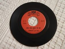 SHIRLEY  AND LEE LIKE YOU USED TO DO/I'VE BEEN LOVED BEFORE WARWICK 535