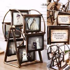 Rotatable Ferris Wheel Windmil Iron Vintage Family Photos Frames Home Decor Gift