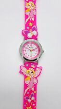 girls pink watch fairies butterfly by Ravel R1513.76