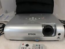 Epson LCD Projector EMP-S4 with Carry Bag Power Cables Computer Cable Remote B11