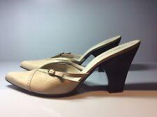 Women's beige CoSTUME NATIONAL slip on shoes size 39