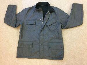 Men's Barbour International Polar Quilt Jacket Size XXL Grey