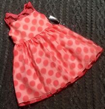 64ac499e6dce George Girls' Easter Special Occasion Coral/peach/party Dress Sz 7