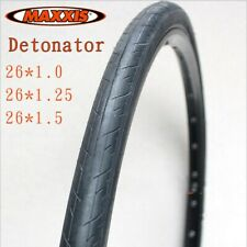 "1 Pair (2pcs) Maxxis Detonator Tyres 26x 1.0/1.25/1.5"" for Road Bike Durable"