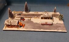 Diorama H0, 1:87; Winterlandschaft, Winter, Schneelandschaft
