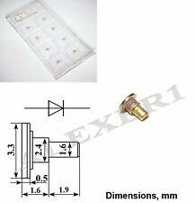 1x 3A715D / DGB8625 GaAs Hi-Power Oscillator Gunn diode 9...10.5GHz 400mW