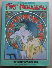 ALL COLOR BOOK OF ART NOUVEAU HARD COVER 1972