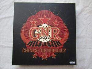 GUNS N ROSES CHINESE DEMOCRACY BOX SET new / un-sealed boxset