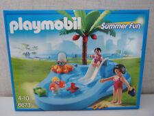 Playmobil Summer Fun 6673 Babybecken mit Rutsche - Neu & OVP