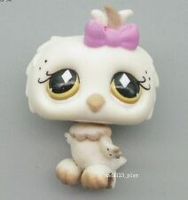 Littlest Pet Shop Loose Figures Collection toy RARE ALMOND OWL E46F