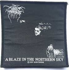 DARKTHRONE A Blaze In The Northern Sky Woven Patch OG 2009 Official Black Metal