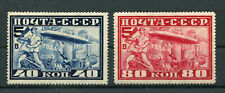 Sowjetunion 390/91 sauber mit Falz / Zeppelin ............................2/4422