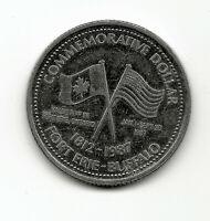 World Tokens - Canada $1 Dollar 1987 Ontario Fort Erie Token