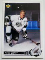 Wayne Gretzky Upper Deck 1992 NHL Trading Card #25 Los Angeles Kings