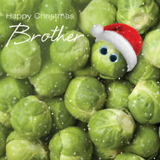 3D Holographic Brother Christmas Greeting Card Lenticular Xmas Cards