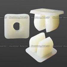100x Headlight Bumper Nylon Nut Screw Grommet For Mazda For Honda For Mitsubishi