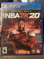 NBA 2K20 PS4 (SONY PLAYSTATION 4, 2019) USED FOR FEW DAYS ONLY FREE SHIPPING!