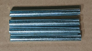 Pack of (4) 3/8 x 3 inch Dowel Pin Alloy Steel Thru Hardened for wood bunkbed