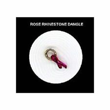 ROSE  Rhinestone RIBBON  Nail Art Dangle Jewelry