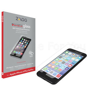Genuine ZAGG InvisibleShield iPhone 6 Plus Rugged Glass Screen Protector 6S plus