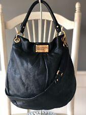 MARC BY MARC JACOBS Hillier BLACK Pebbled Leather Tote Shoulder Handbag Purse