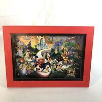 Disney Four Parks One World - 3D Cardstock Framed Artwork