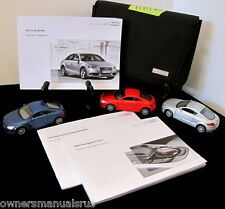 2011 Audi A4  with Navigation  Owners Manual Set #O590