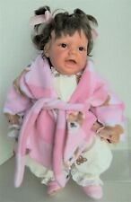 """REVA SCHICK Lee Middleton 21"""" READY FOR BED Doll MIB w/ Papers"""
