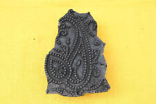 Hand carved indian wood prinitng blocks fabric stamping paper art paper printing