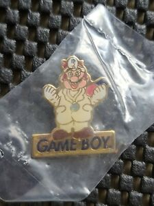 Vintage Nintendo Dr Mario Game Boy Kellogg Cereal Pin Badge Rare Promo Retro #1