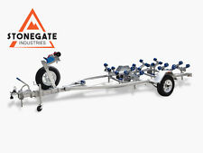 4M Wobble Rollers Boat Trailer with Disc Brakes Drive-On Skid Type Tinny Seajay