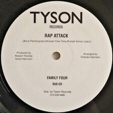 "FAMILY FOUR - ""RAP ATTACK"" 12"" (R&B, Funk, Hip Hop, Soul, vinyl, 33RPM, 12inch)"