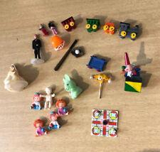 V02 1X 1//12 doll House Miniatura In Legno Carrozze e treno giocattolo Set L1N7