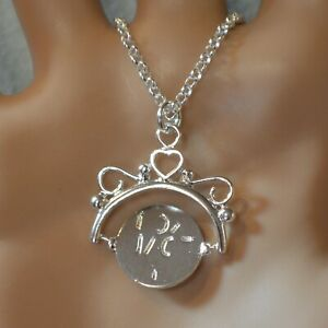 new sterling silver I LOVE YOU  pendant & chain
