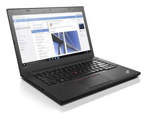 "Lenovo ThinkPad T460 - 14"" (35,6 cm) i5-2,40 GHz 8 GB 250 GB SSD Webcam W10P"
