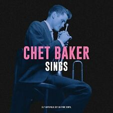 Chet Baker Sings Jazz Pink Vinyl 3 Record LP Gatefold Set