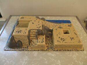 2002 Lego Raised Baseplate 44510 World City Coast Watch HQ 32 x 48 for 7047