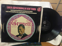 """LOUIS ARMSTRONG IN NEW YORK WITH THE RED ONIONS JAZZ BABIES VINYL LP RECORD 12"""""""