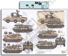 ECHELON FD D356226, 1/35 Decals for Syrian AFVs (Syrian Civil War 2011) Pt 2.