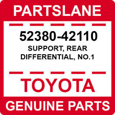 52380-42110 Toyota OEM Genuine SUPPORT, REAR DIFFERENTIAL, NO.1