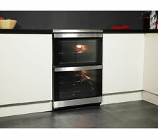 AEG 49106IU-MN Electric Double Oven Cooker 60cm in Stainless Steel