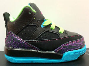 """Toddler's Nike Air Jordan Son of Mars 599928-028 Black/Pink/Blue """"Fresh Prince"""""""