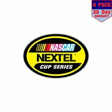 Nascar Nextel Cup Series Racing 4 Stickers 4x4 Inch Sticker Decal