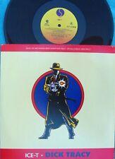 Ice-T ORIG US PS 12 Dick Tracy EX '90 Sire 021704 Rap Hip Hop Soundtrack
