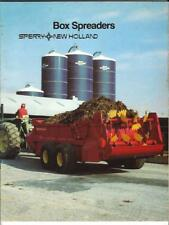 1983 Sperry New Holland Box Spreaders Sales Brochure