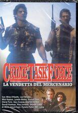CRIME TASK FORCE - LA VENDETTA DEL MERCENARIO - DVD (NUOVO SIGILLATO)