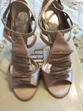 Office Beige Shoes Size 6 And Matching Bag **ideal for wedding**