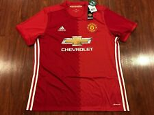 2016-17 Adidas Manchester United Men's Home Soccer Jersey Extra Large XL Man U