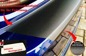 Lackschutzfolie-Ladekantenschutz für BMW 1er F40, ab BJ 09/2019 Schwarz matt